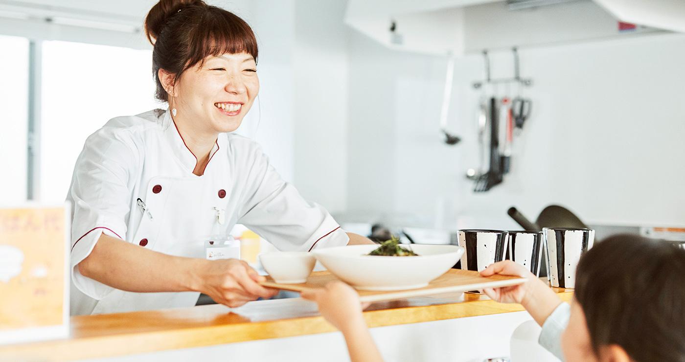 子ども食堂おひさまキッチン「お待ちかねのごはんができた!!」